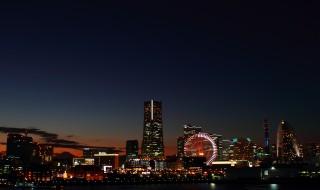 japan_yokohama_night_view